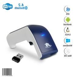 ScanAvenger 1D Wireless Bluetooth Barcode Scanner: 3-in-1 Ha