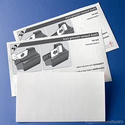 Check Scanner Cleaning Cards
