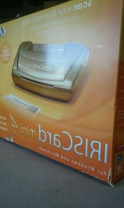 IRISCard mini 4 -Personal Business Card Scanner, New in Box