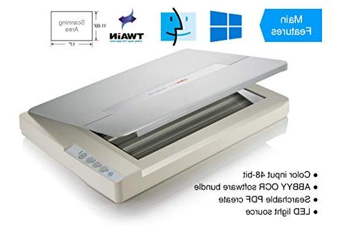 Plustek OS : Format scan for Blueprints and Document. for Library, School Soho. A3 and