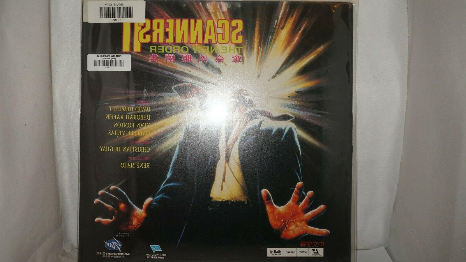 Scanner II The New Order Laserdisc Chinese Subtitile #3