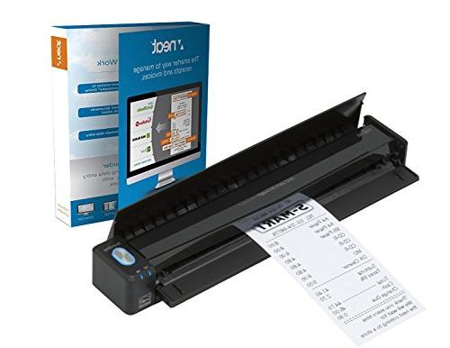 Fujitsu ScanSnap iX100 Mobile Scanner Powered with Neat, 1 Y