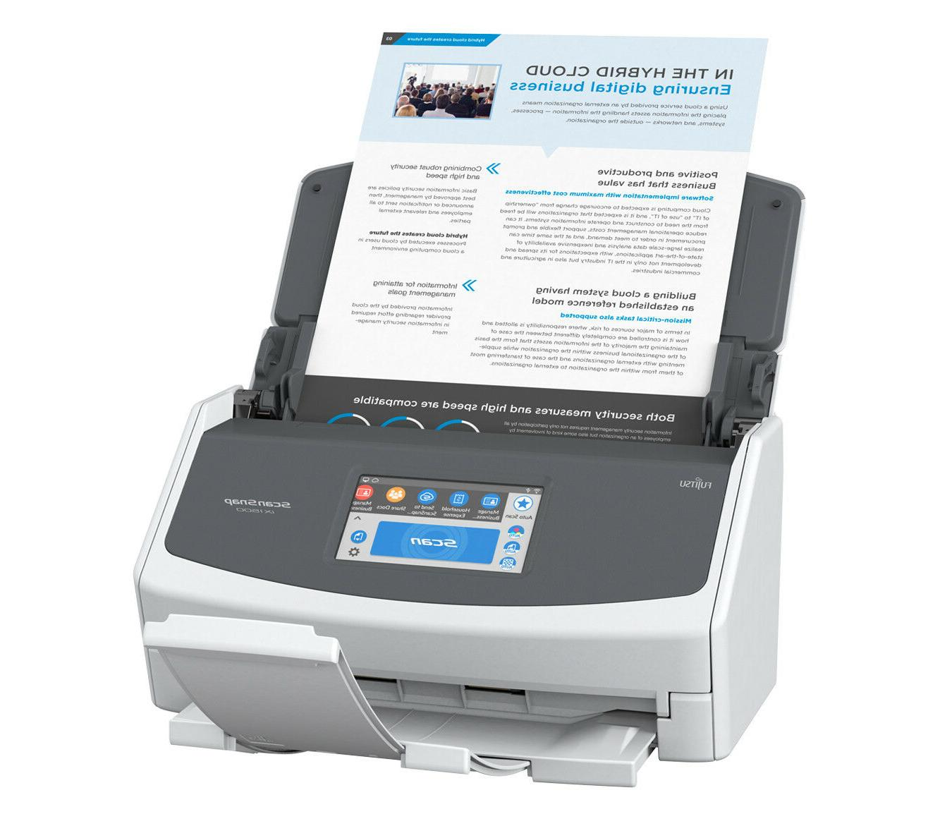 scansnap ix1500 duplex document scanner