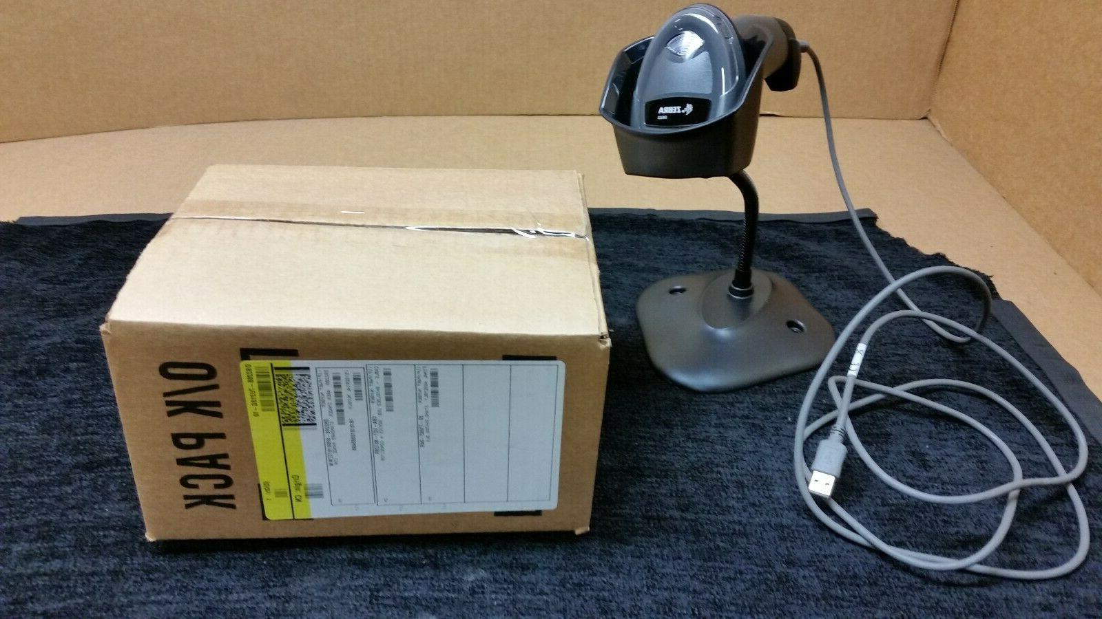 Zebra DS2208-Series SR Corded Stand and USB