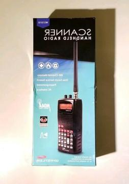 NEW Whistler WS1010 Handheld Police Scanner 200 Channel Anal