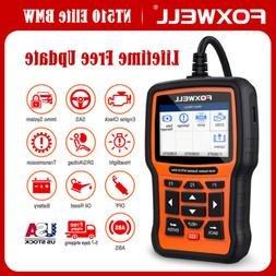 Foxwell NT510 For BMW Full System Engine ABS SRS Scanner SAS