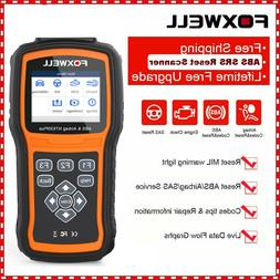 Foxwell NT630 Automotive OBD2 Scanner ABS SRS SAS Airbag Res