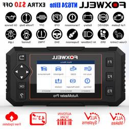 Foxwell OBD2 Scanner Full System Auto Diagnostic Tool Oil EP