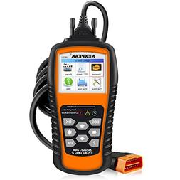 NEXPEAK OBD2 Scanner NX501 Enhanced OBD II Auto Code Reader