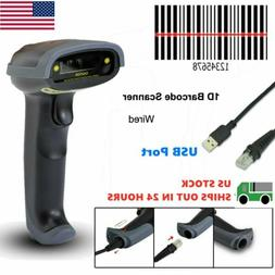 Portable Handheld USB Port Laser Barcode Scanner Bar Code Re