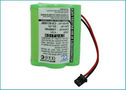 Replacement Battery for Nascar 4.8v 1200mAh/5.76Wh BarCode,